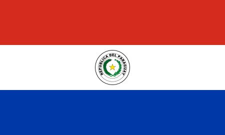 Free Paraguay flag graphics, vectors, and printable PDF files. Get the free downloads at http://flaglane.com/download/paraguayan-flag/