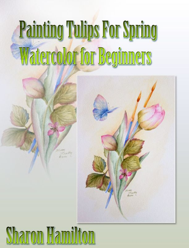 Online Painting Class How To Paint Flowers In Watercolor With
