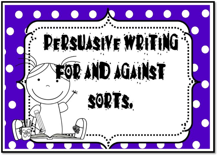 persuasive for and against