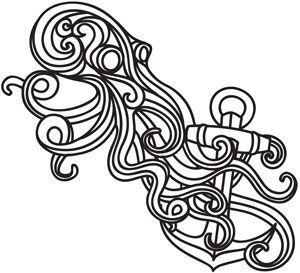 Baroque Punk Squid | Urban Threads: Unique and Awesome Embroidery Designs,  #Awesome #Baroque…