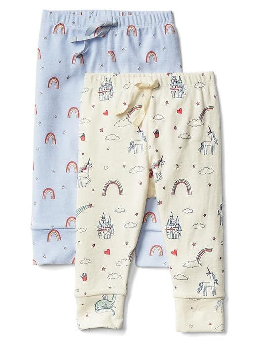 Fairy tale knit pants (2-pack)