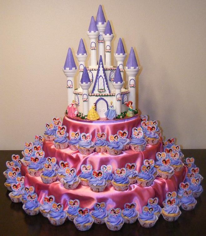 15 Cupcake Birthday Cake Designs For Kids
