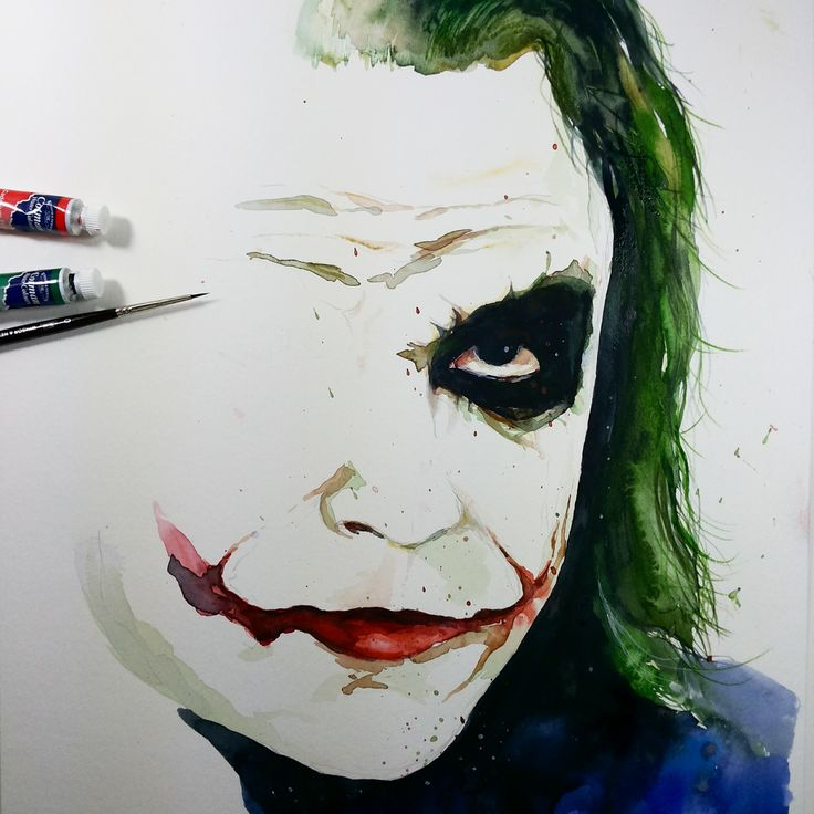 Joker_Watercolor_ Aquarela_jmb
