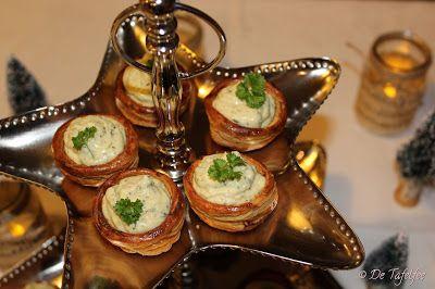 De Tafelfee: Pasteitjes met courgette-kaas-crème