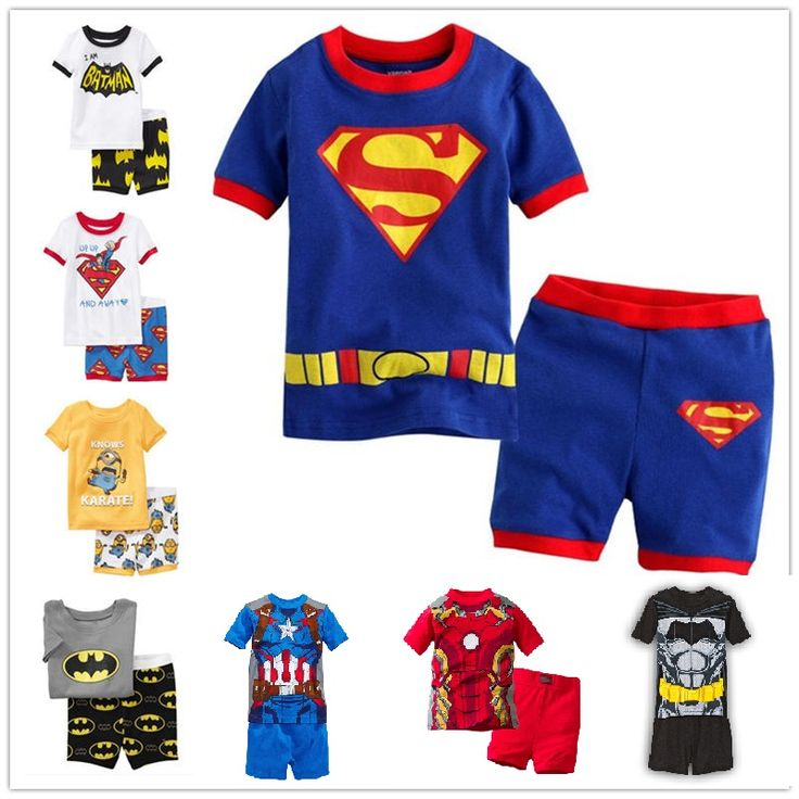 2016 new summer cotton  short sleeve clothes sets kids  pajamas girls pijama boys children's pyjamas walking clothing #>=#>=#>=#>=#> Click on the pin to check out discount price, color, size, shipping, etc. Save and like it!