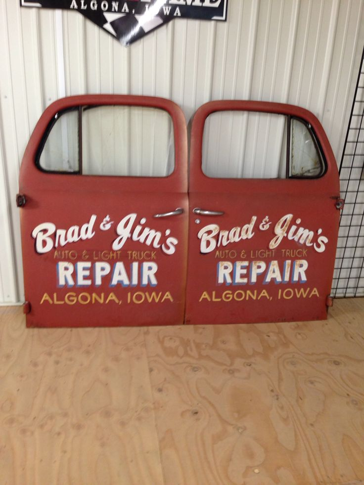 Old School Truck Lettering Fonts