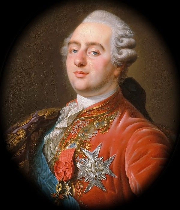 Антуан-Франсуа Калле -- Людовик XVI, король Франции и Наварры. Версальский дворец
