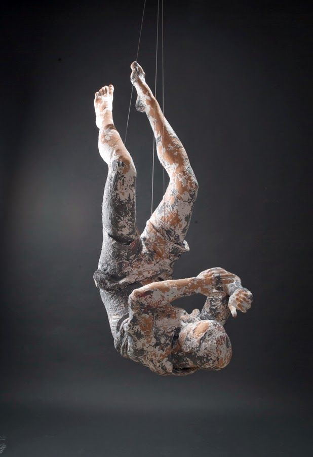 """rhubarbes: """" Ceramic sculptures by Kathy Venter. """" More Sculptures here."""