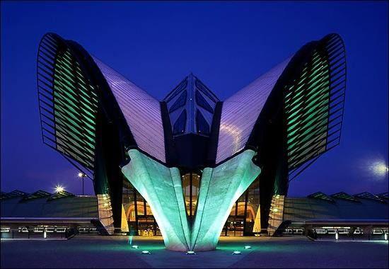 Tenerife Concert Hall by Santiago Calatrava, Canary Islands, Spain..