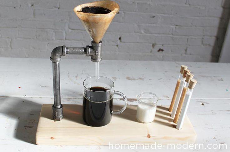HomeMade Modern DIY Pipe Coffee Maker Options
