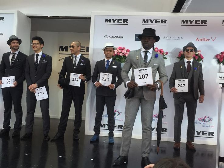 Myer Fashions on the Field Derby Day 2015 Men's Racewear | ON TRACK ON TREND