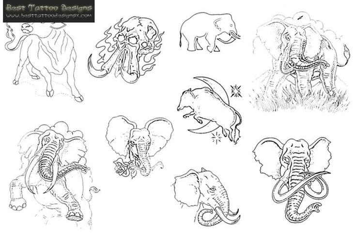 Circus Elephant Tattoo Design   Fresh 2017 Tattoos Ideas