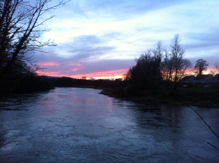 River Nith Sunset