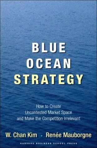 """""""Blue Ocean Strategy"""" by W. Chan Kim and Renee Mauborgne -  Based on a study of 150 strategic moves spanning more than a hundred years and thirty industries, authors W. Chan Kim and Renee Mauborgne argue that lasting success comes from creating 'blue oceans': untapped new market spaces ripe from growth. And the business world has caught on - companies around the world are skipping the bloody red oceans of rivals and creating their very own blue oceans."""