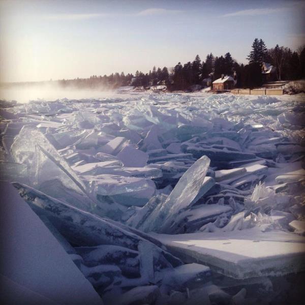 5. Superior Gölü'nde yalnızlık kalesi