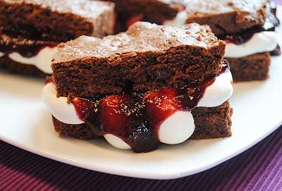 Schwarzwälder Kirsch - Brownies *