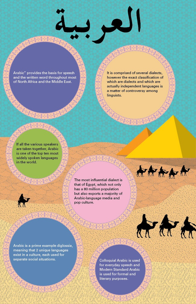 12 best images about Infographics about the Arabic ...