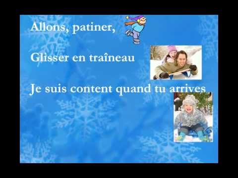 "Please visit: http://www.charlottediamond.com/ This song is from the CD ""Bonjour l'hiver"" and is used with permission."