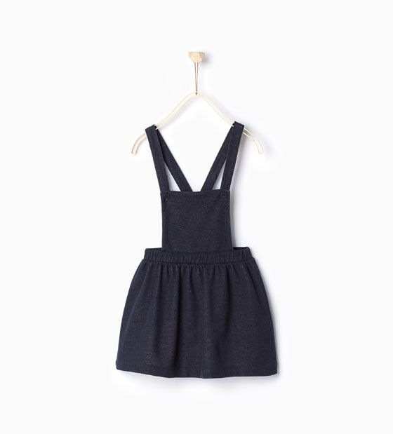 Image 1 of Dungarees with skirt from Zara