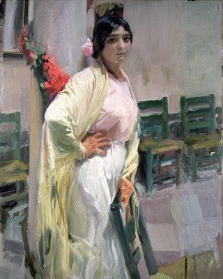 Maria, the Pretty One, 1914 by Joaquin Sorolla y Bastida