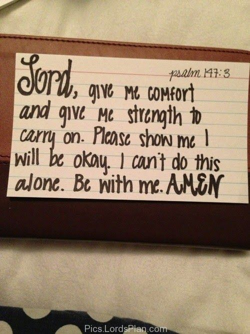 The Game Plan for Dealing with Depression: Comfort and Strength #depression #suicide