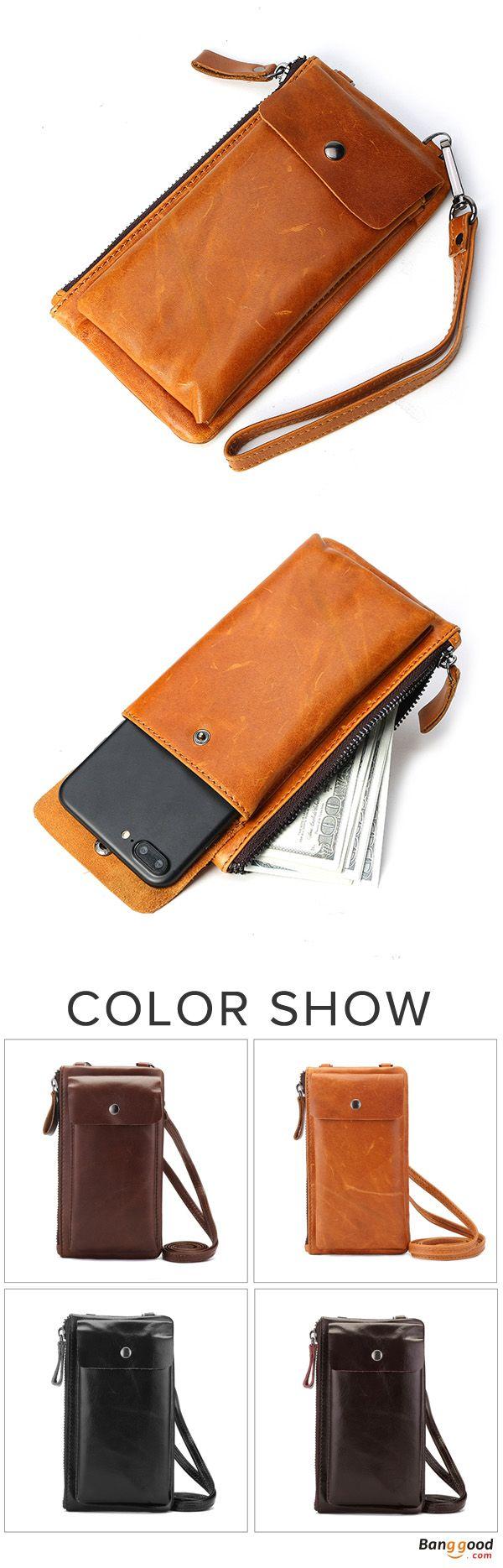 US$22.28+Free shipping. Women's Bag, Phone Bag, Wallet, Genuine Leather, Lightweight. Color: Black, Dark Brown, Light Brown, Dark Purple, Coffee. Shop now~