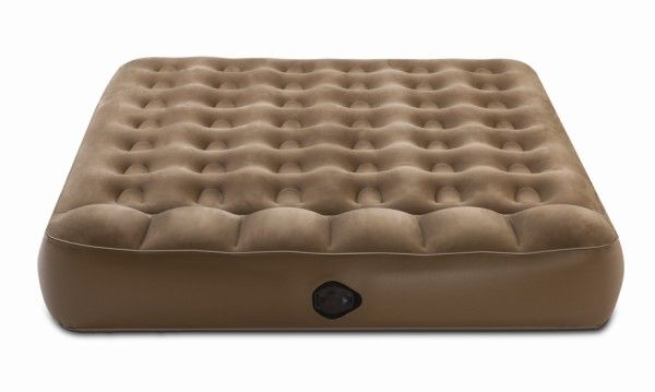 The outdoor air mattress range from aerobed . If your looking for a camping Air Bed the Aero Bed is hard to beat. Complete with a 12v / 240v rechargeable pump the Active Single Aerobeds (200 x 100 x 23cm)