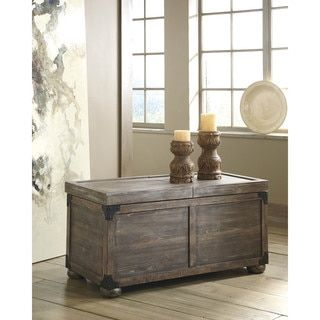 Shop for Signature Design by Ashley Vennilux Gray/Brown Storage Cocktail Table. Get free shipping at Overstock.com - Your Online Furniture Outlet Store! Get 5% in rewards with Club O!