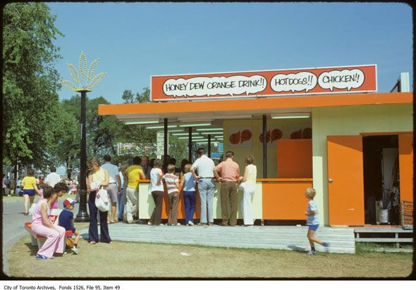 toronto cne 1970s-we always bought Honey Dew at the CNE