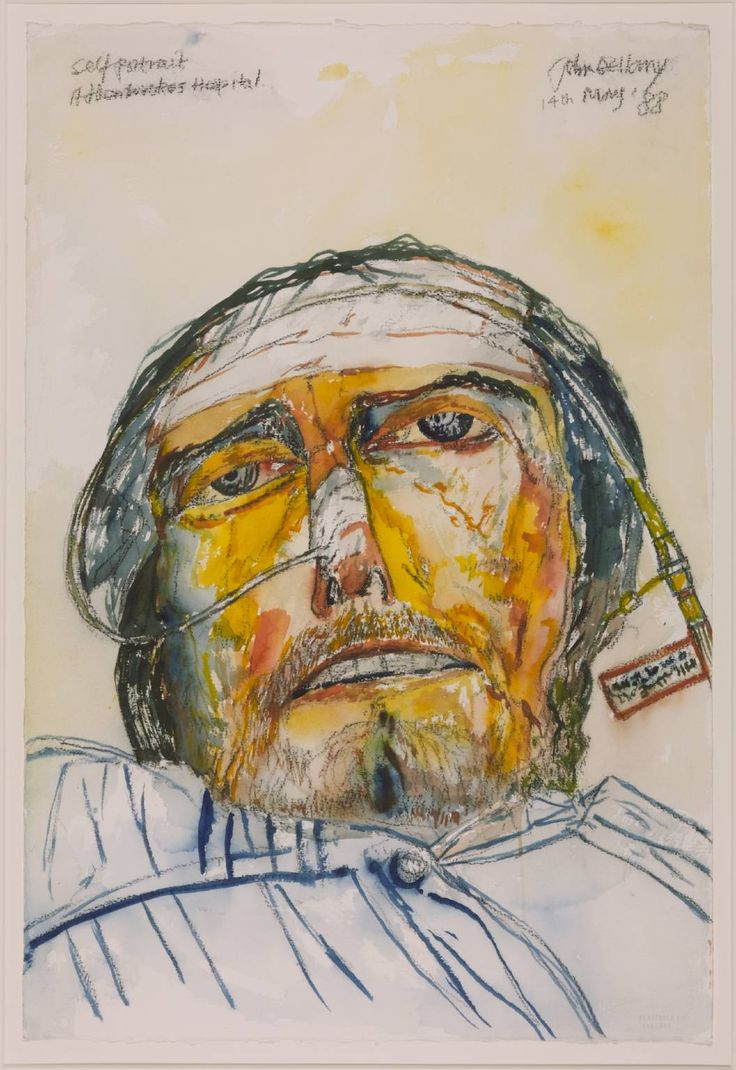 John Bellany - self portrait