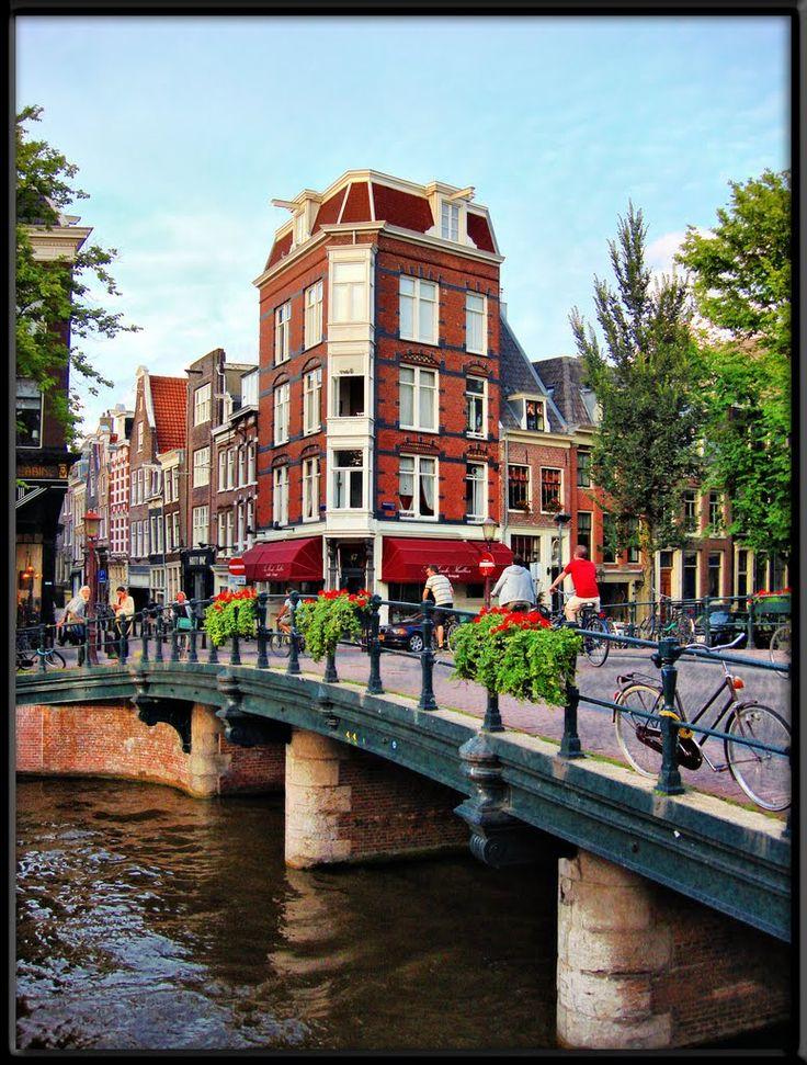 Puentes de Amsterdam.