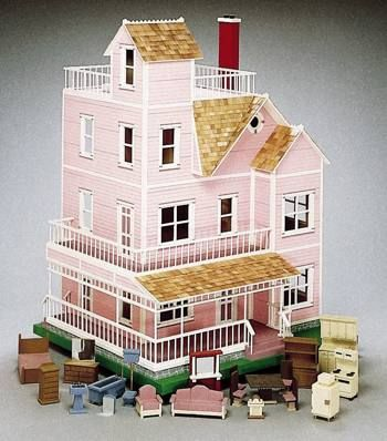 Victorian Doll House Woodworking Plans Z