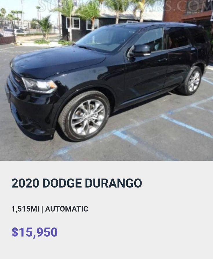 2020 DODGE DURANGO SUR MOTOR CARS 504 E Alondra Blvd