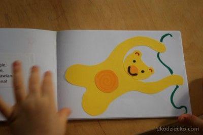 """Jan Brzechwa """"ZOO"""" książeczka ręcznie robiona dla dziecka zoo brzechwa małpy"""