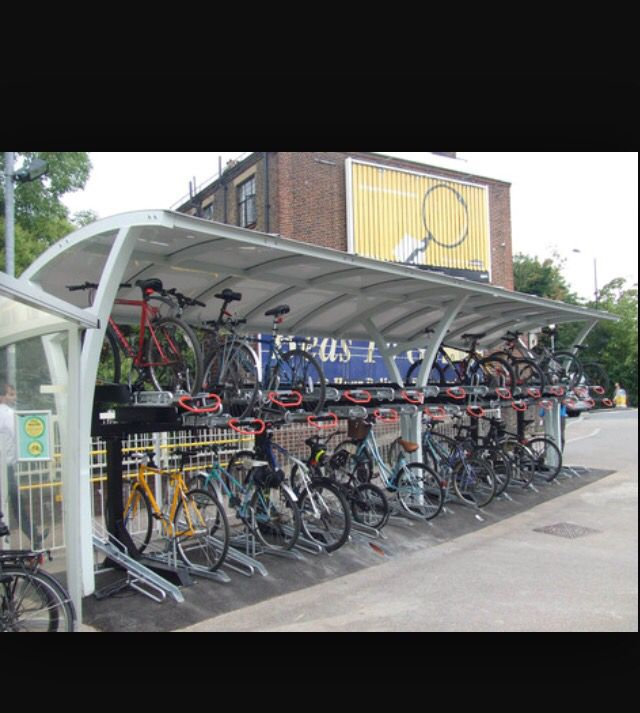 Policy: active transport policies - bike ride at train station