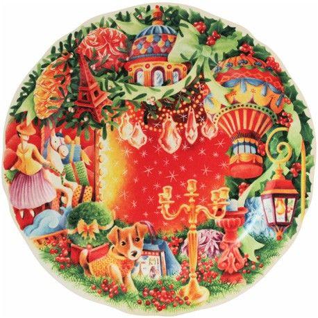 Christmas 2014 - 1 Dessert plate