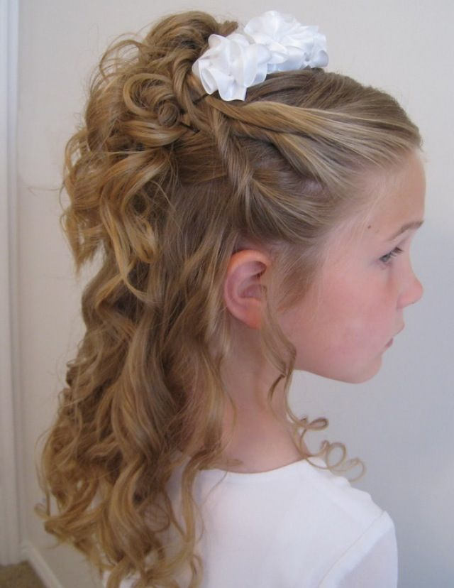 Hair style for a child