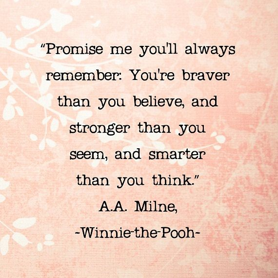 Winnie the Pooh Quotes Love Poohisms Pastel Colors Coral Salmon Peach Nursery Bedroom Decor, 8 x 8 Word Art Print on Etsy, $25.00