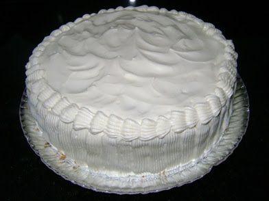 Imagem da receita Creme branco para recheio e cobertura de bolo