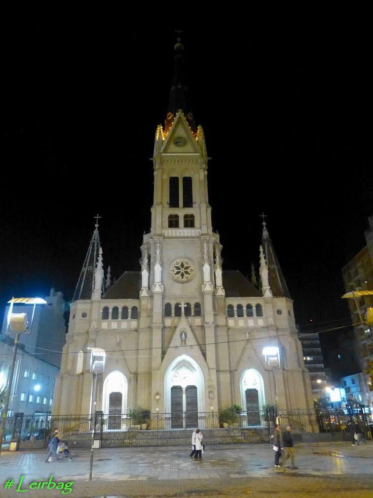 Iglesia catedral San Pedro y Santa Cecilia, Mar del Plata, prov. de Buenos Aires, Argentina