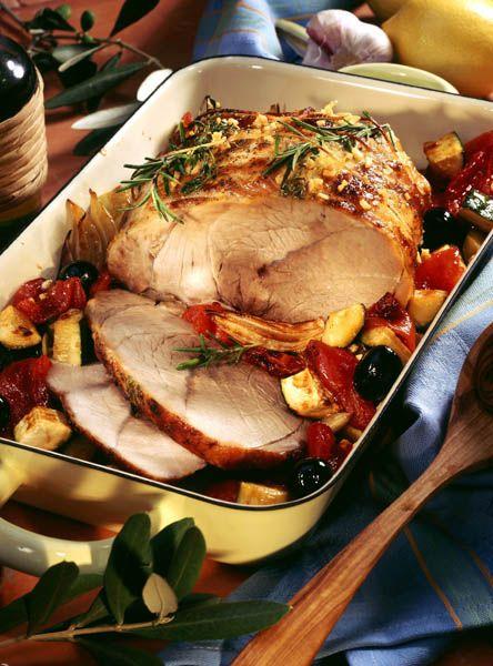Muşchi de porc la tavă - Retete culinare - Romanesti si din Bucataria internationala