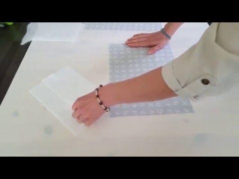 tutoriel pour faire un Protège carnet de santé - YouTube