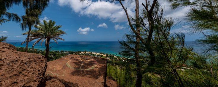 ʻEhukai Pillbox Wanderung auf Oahu