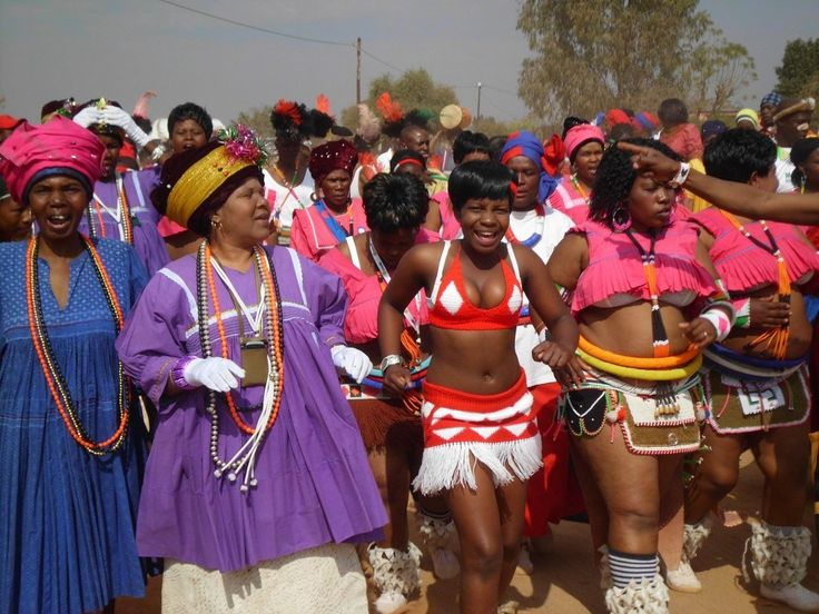 Sotho (Southern and Northern Sotho) - 10 South African tribes