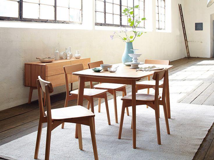 1000 ideas about esstisch kernbuche on pinterest sitzbank mit r ckenlehne kulissentisch and. Black Bedroom Furniture Sets. Home Design Ideas