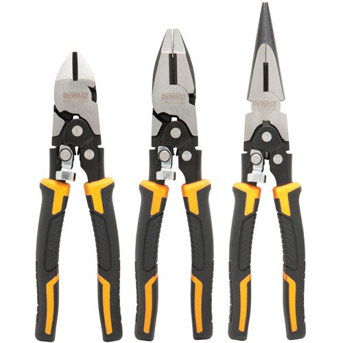 DWHT70485 Compound Pliers 3 Pack | DEWALT Tools
