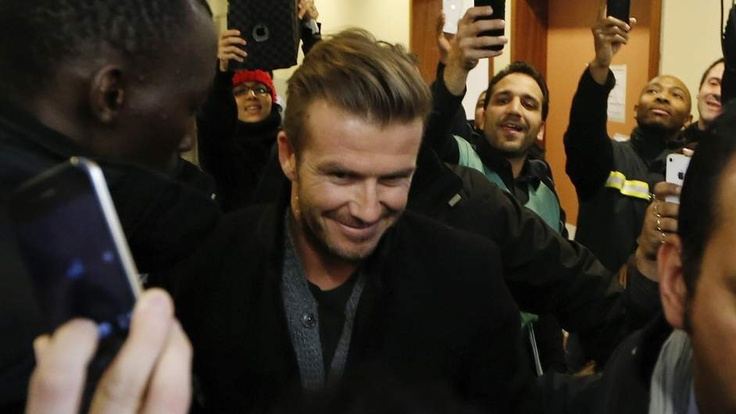 David Beckham has signed with Paris St. Germain for 5 months. He says he won't receive a salary; instead, the money will go to a children's charity in Paris. (via @Sky News)