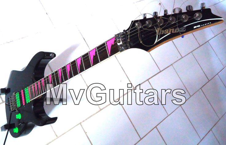 Skins Adesivos Dentes de Tubarão + HSH Captadores p/ Guitarra