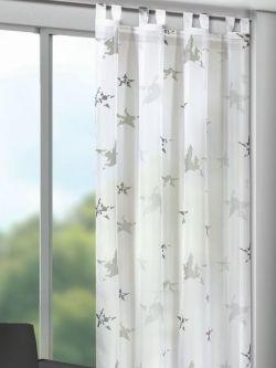 Luxury Mit Sternen bedruckte Gardine f r das Kinderzimmer Gardinen Outlet