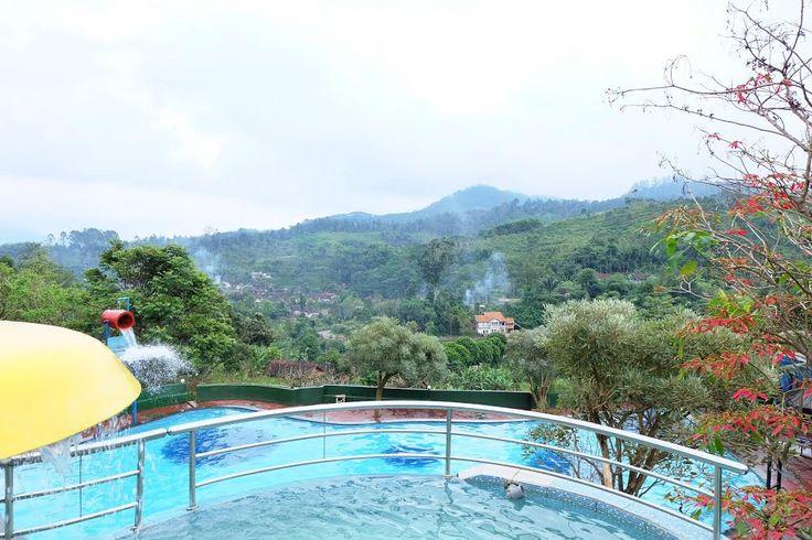 Barusen Hills Kolam Cantik dan Unik di Bandung Jawa Barat - Jawa Barat